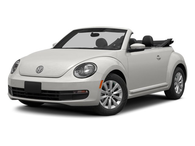 Candy White/Black Roof 2014 Volkswagen Beetle Convertible Pictures Beetle Convertible Convertible 2D TDI I4 photos front view