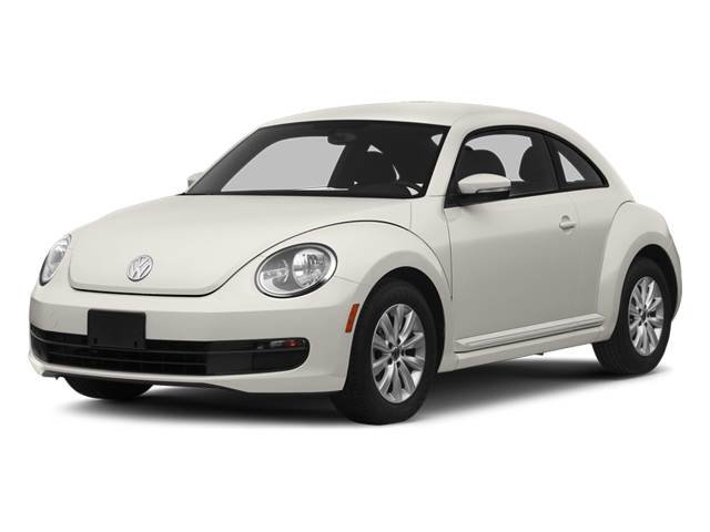 Pure White 2014 Volkswagen Beetle Coupe Pictures Beetle Coupe 2D 2.5 Entry I5 photos front view