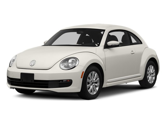 Pure White 2014 Volkswagen Beetle Coupe Pictures Beetle Coupe 2D 1.8T I4 Turbo photos front view