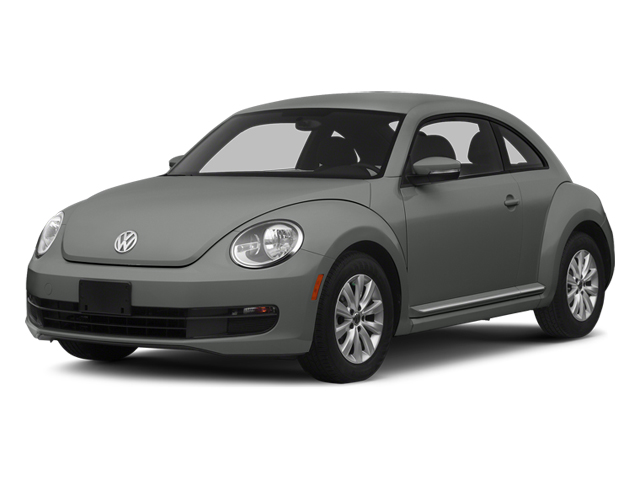 Platinum Gray Metallic 2014 Volkswagen Beetle Coupe Pictures Beetle Coupe 2D 2.5 Entry I5 photos front view