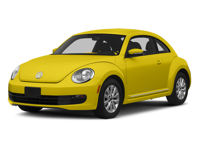 Yellow Rush 2014 Volkswagen Beetle Coupe Pictures Beetle Coupe 2D 1.8T I4 Turbo photos front view