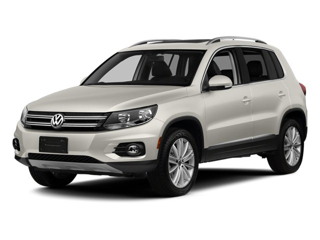 Pure White 2014 Volkswagen Tiguan Pictures Tiguan Utility 4D SEL 2WD I4 Turbo photos front view