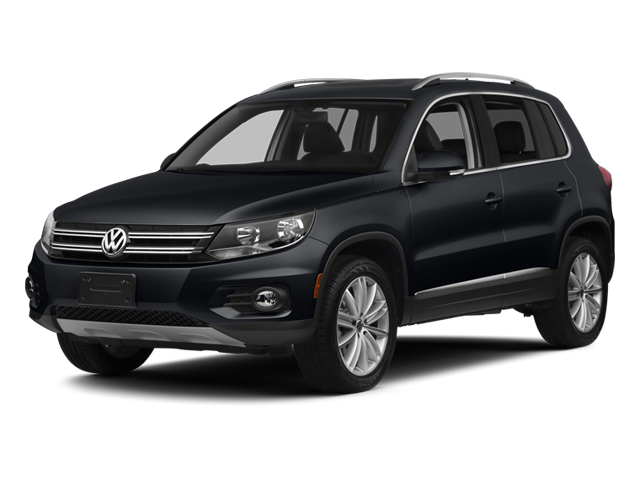 Deep Black Pearl 2014 Volkswagen Tiguan Pictures Tiguan Utility 4D SEL 2WD I4 Turbo photos front view