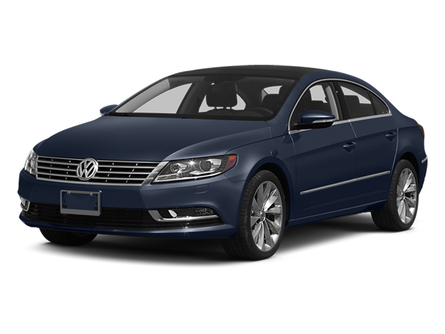 Night Blue Metallic 2014 Volkswagen CC Pictures CC Sedan 4D Sport I4 Turbo photos front view