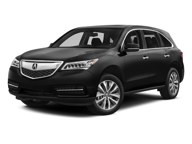Crystal Black Pearl 2015 Acura MDX Pictures MDX Utility 4D Technology DVD AWD V6 photos front view