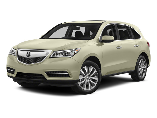 White Diamond Pearl 2015 Acura MDX Pictures MDX Utility 4D Technology 2WD V6 photos front view