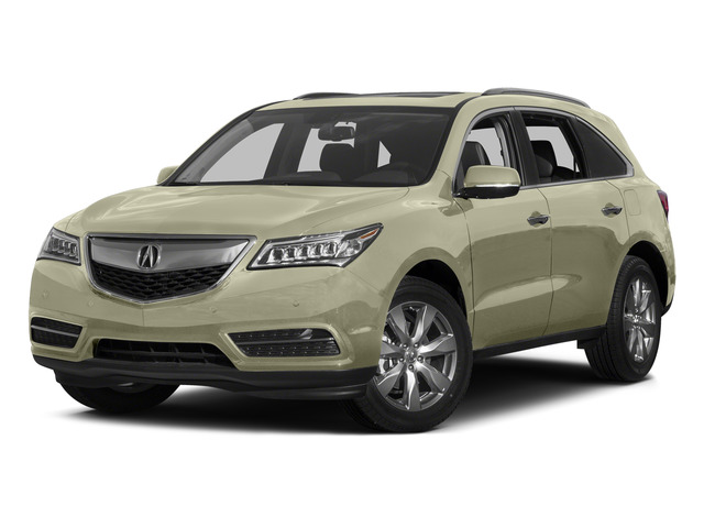 White Diamond Pearl 2015 Acura MDX Pictures MDX Utility 4D Advance DVD AWD V6 photos front view