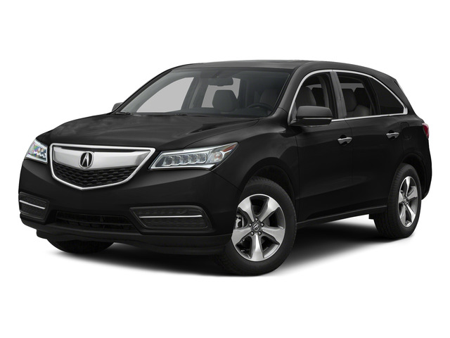 Crystal Black Pearl 2015 Acura MDX Pictures MDX Utility 4D 2WD V6 photos front view