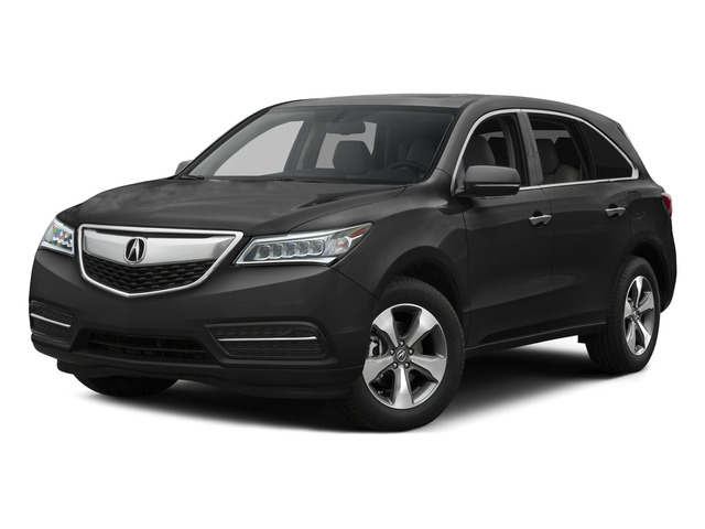 Graphite Luster Metallic 2015 Acura MDX Pictures MDX Utility 4D 2WD V6 photos front view
