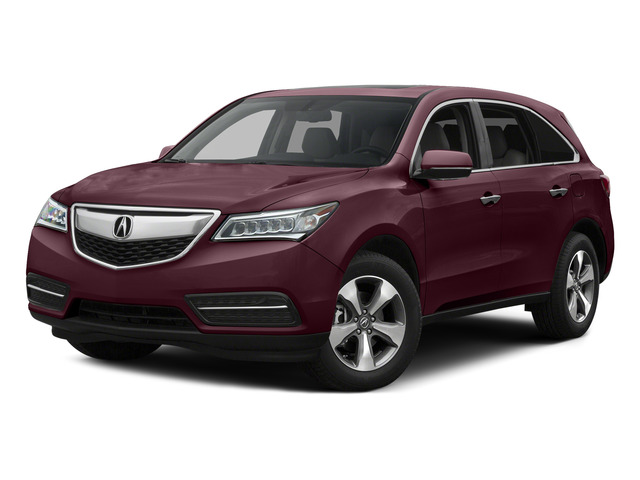 Dark Cherry Pearl 2015 Acura MDX Pictures MDX Utility 4D 2WD V6 photos front view