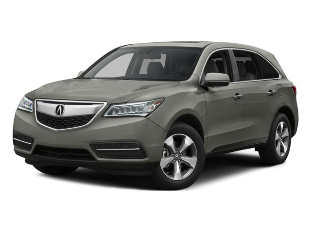 Silver Moon 2015 Acura MDX Pictures MDX Utility 4D 2WD V6 photos front view