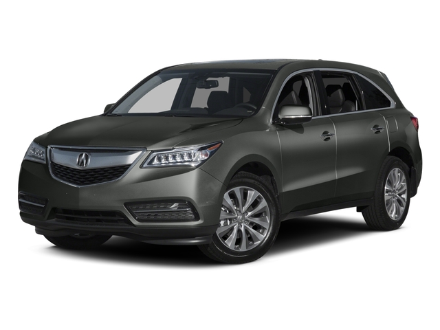 Forest Mist Metallic 2015 Acura MDX Pictures MDX Utility 4D Technology DVD 2WD V6 photos front view