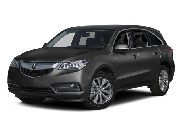 Graphite Luster Metallic 2015 Acura MDX Pictures MDX Utility 4D Technology DVD 2WD V6 photos front view