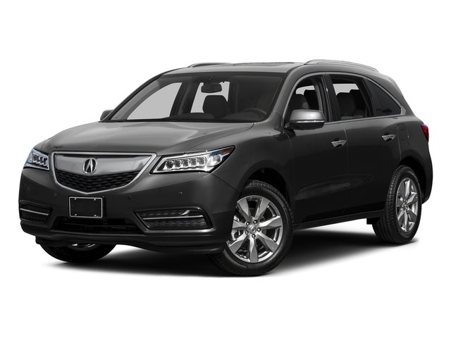 Graphite Luster Metallic 2015 Acura MDX Pictures MDX Utility 4D Advance DVD 2WD V6 photos front view