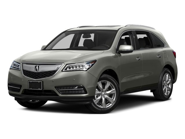 Silver Moon 2015 Acura MDX Pictures MDX Utility 4D Advance DVD 2WD V6 photos front view
