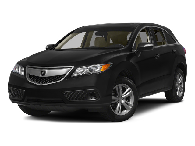 Crystal Black Pearl 2015 Acura RDX Pictures RDX Utility 4D AWD V6 photos front view