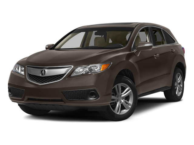 Kona Coffee Metallic 2015 Acura RDX Pictures RDX Utility 4D AWD V6 photos front view