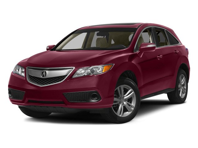 Basque Red Pearl II 2015 Acura RDX Pictures RDX Utility 4D AWD V6 photos front view