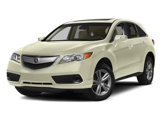 White Diamond Pearl 2015 Acura RDX Pictures RDX Utility 4D AWD V6 photos front view