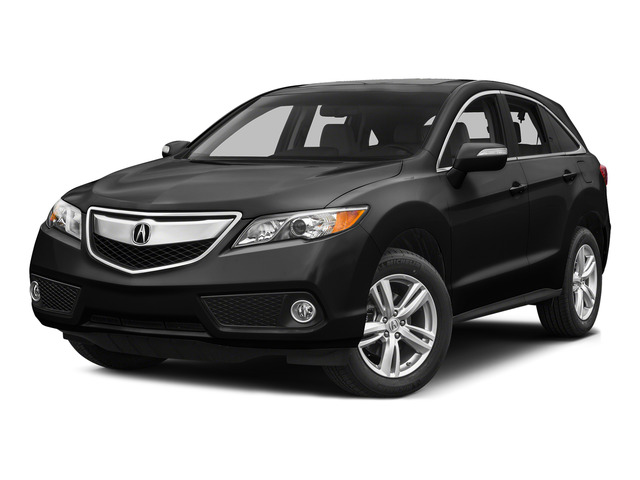 Crystal Black Pearl 2015 Acura RDX Pictures RDX Utility 4D Technology AWD V6 photos front view