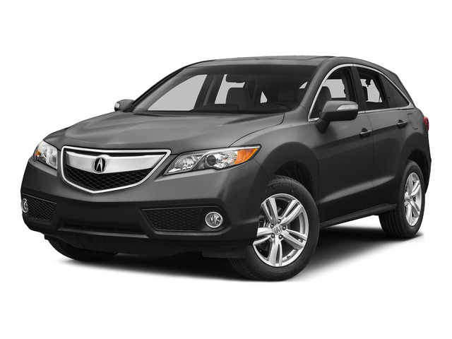 Graphite Luster Metallic 2015 Acura RDX Pictures RDX Utility 4D Technology AWD V6 photos front view