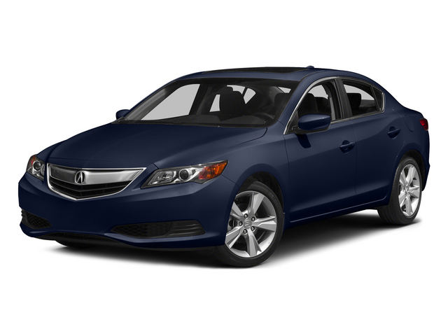 Fathom Blue Pearl 2015 Acura ILX Pictures ILX Sedan 4D I4 photos front view
