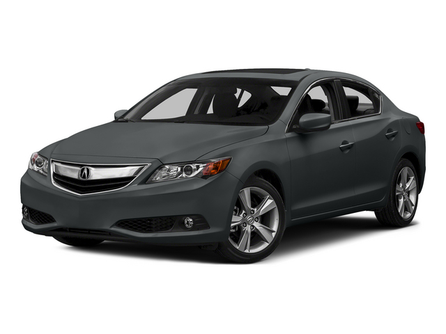 Modern Steel Metallic 2015 Acura ILX Pictures ILX Sedan 4D Premium I4 photos front view