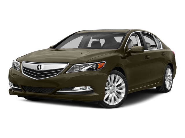 Gilded Pewter Metallic 2015 Acura RLX Pictures RLX Sedan 4D Technology V6 photos front view
