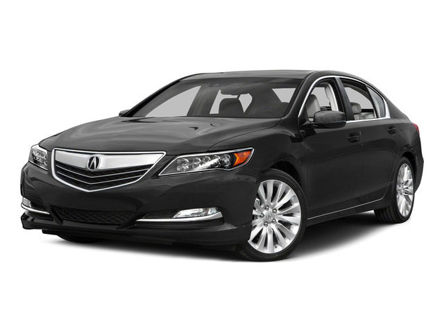 Graphite Luster Metallic 2015 Acura RLX Pictures RLX Sedan 4D Navigation V6 photos front view