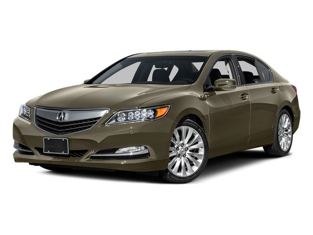 Gilded Pewter Metallic 2015 Acura RLX Pictures RLX Sedan 4D Advance V6 photos front view