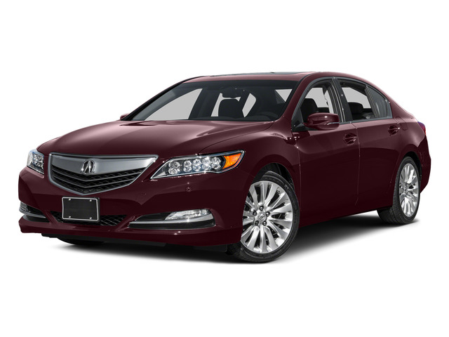 Pomegranate Pearl 2015 Acura RLX Pictures RLX Sedan 4D Advance V6 photos front view
