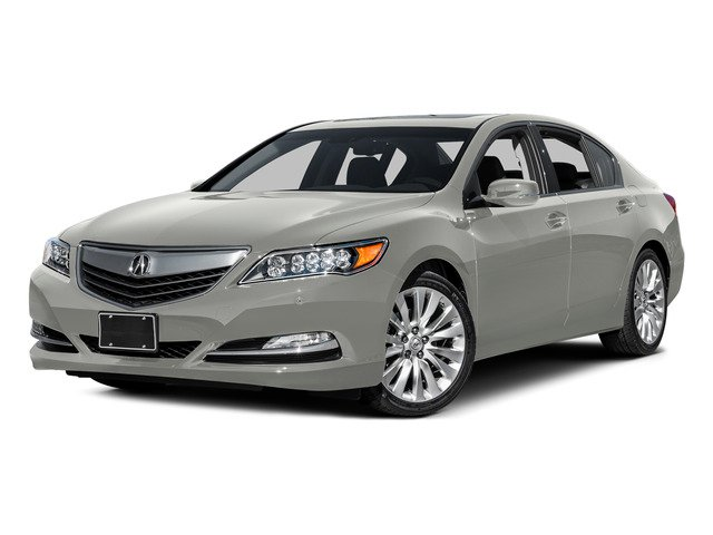 Silver Moon Metallic 2015 Acura RLX Pictures RLX Sedan 4D Advance V6 photos front view