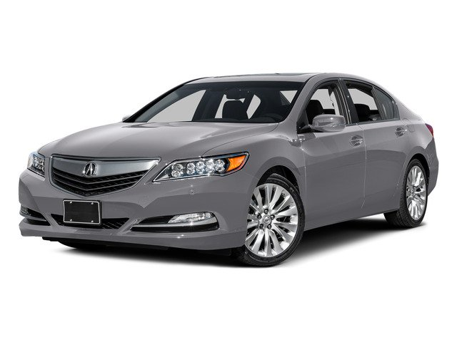 Forged Silver Metallic 2015 Acura RLX Pictures RLX Sedan 4D Advance V6 photos front view