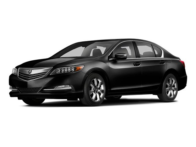 Crystal Black Pearl 2015 Acura RLX Pictures RLX Sedan 4D V6 photos front view