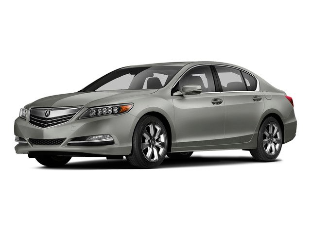 Silver Moon Metallic 2015 Acura RLX Pictures RLX Sedan 4D V6 photos front view