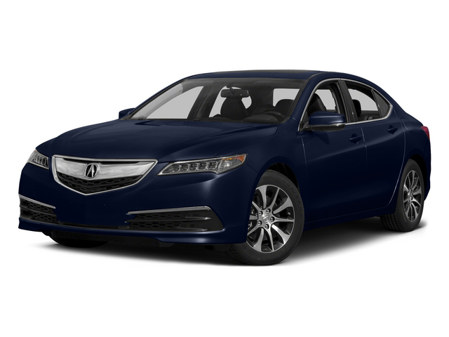 Fathom Blue Pearl 2015 Acura TLX Pictures TLX Sedan 4D I4 photos front view