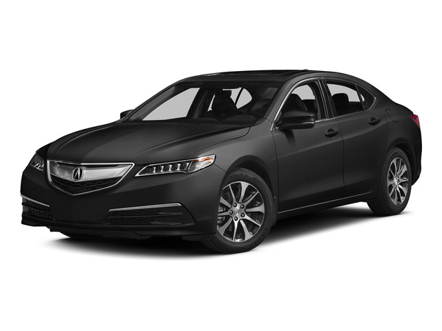 Graphite Luster Metallic 2015 Acura TLX Pictures TLX Sedan 4D Technology I4 photos front view