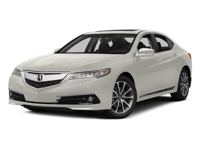 Bellanova White Pearl 2015 Acura TLX Pictures TLX Sedan 4D Advance V6 photos front view