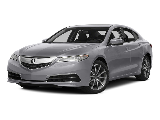 Slate Silver Metallic 2015 Acura TLX Pictures TLX Sedan 4D V6 photos front view