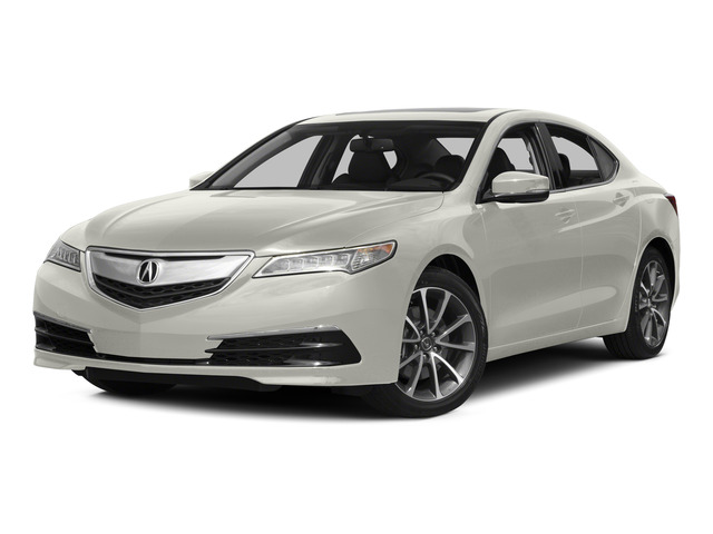 Bellanova White Pearl 2015 Acura TLX Pictures TLX Sedan 4D V6 photos front view
