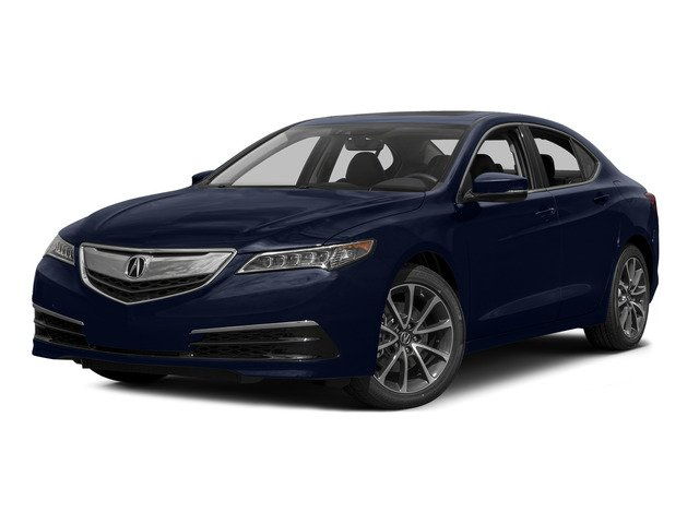 Fathom Blue Pearl 2015 Acura TLX Pictures TLX Sedan 4D Technology V6 photos front view