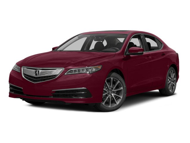 Basque Red Pearl II 2015 Acura TLX Pictures TLX Sedan 4D Technology V6 photos front view