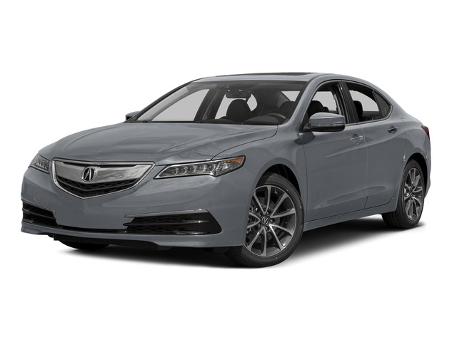 Slate Silver Metallic 2015 Acura TLX Pictures TLX Sedan 4D Technology V6 photos front view