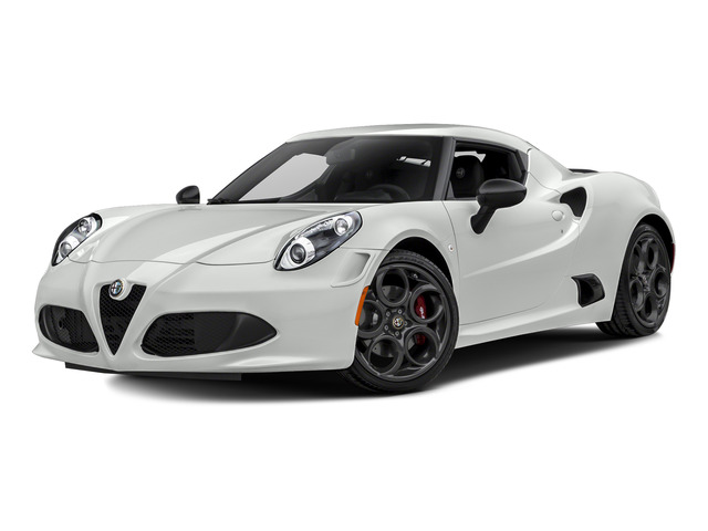 White 2015 Alfa Romeo 4C Pictures 4C Coupe 2D I4 Turbo photos front view