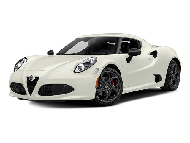 Madreperla White Tri-Coat 2015 Alfa Romeo 4C Pictures 4C Coupe 2D Launch Edition I4 Turbo photos front view