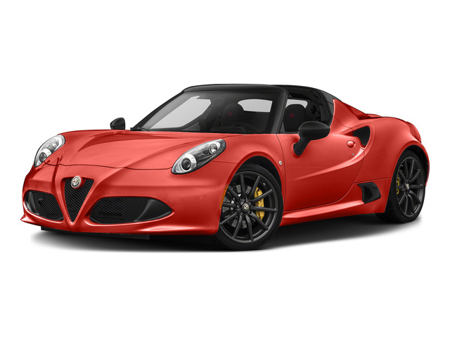 Rosso Alfa 2015 Alfa Romeo 4C Pictures 4C Convertible 2D Spyder I4 Turbo photos front view