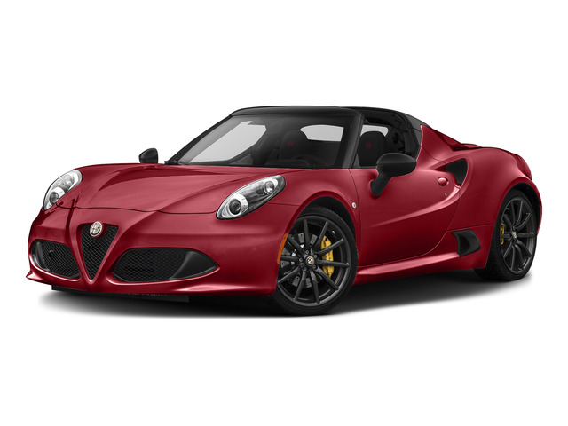 Rosso Competizione Tri-Coat 2015 Alfa Romeo 4C Pictures 4C Convertible 2D Spyder I4 Turbo photos front view