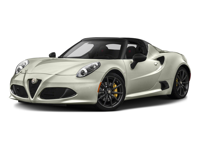 Madreperla White Tri-Coat 2015 Alfa Romeo 4C Pictures 4C Convertible 2D Spyder I4 Turbo photos front view