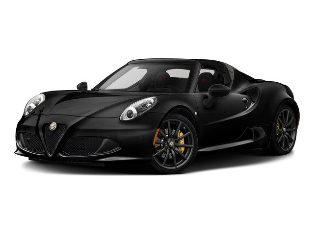Black 2015 Alfa Romeo 4C Pictures 4C Convertible 2D Spyder I4 Turbo photos front view