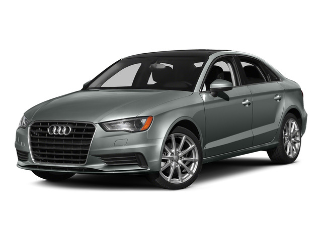 Monsoon Gray Metallic 2015 Audi A3 Pictures A3 Sedan 4D 1.8T Premium I4 Turbo photos front view